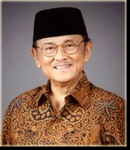 BJ Habibie, ketua dewan PT RAI